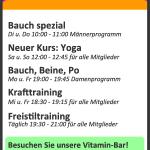 Digitale Anzeige vertikal Fitness 02